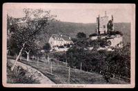AK castle Rammstein and guest house in 1919 to Paris